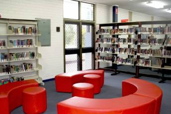 Red Reading Area
