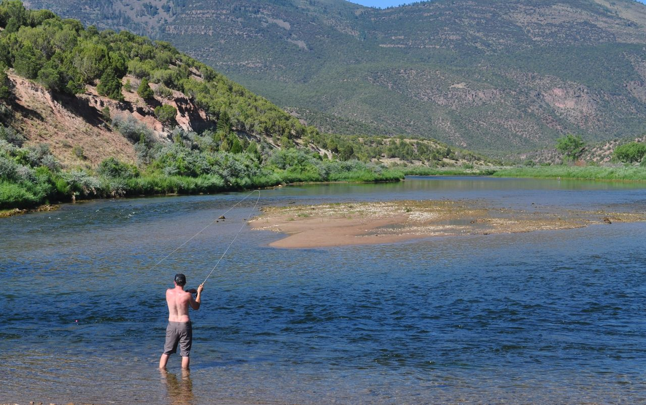 Jarvie ranch moose knuckle fly fishing for Green river fishing