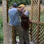 Mark receives step by step Shotgun training.