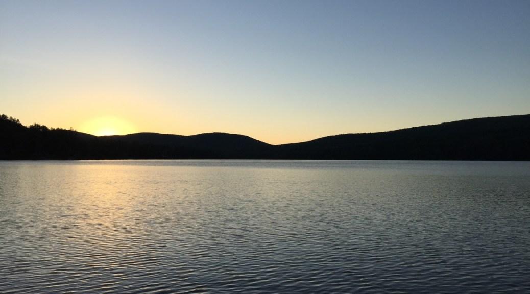 Sunrise over Lake Fairlee