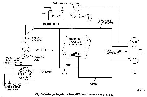 1970 mopar alternator wiring diagram