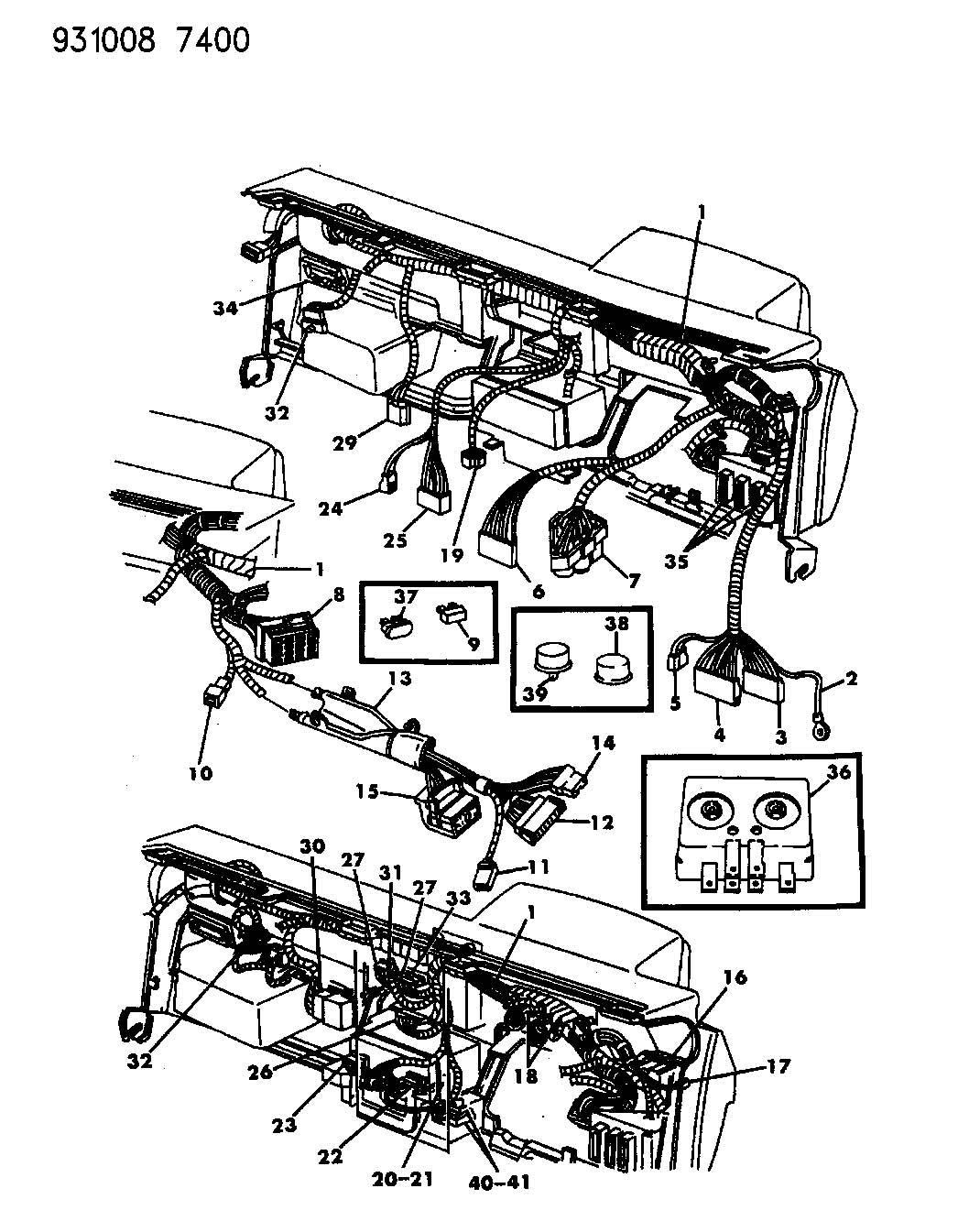 1994 dodge dakota fuse panel diagram