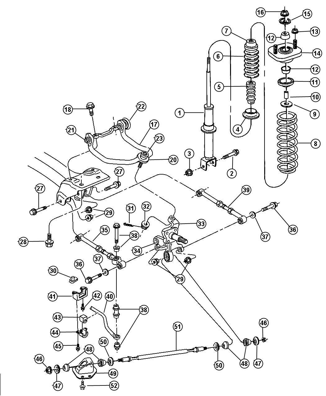 98 Chrysler Sebring Engine Diagram