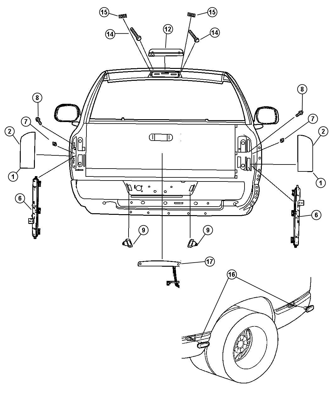1998 dodge ram radio wiring harness