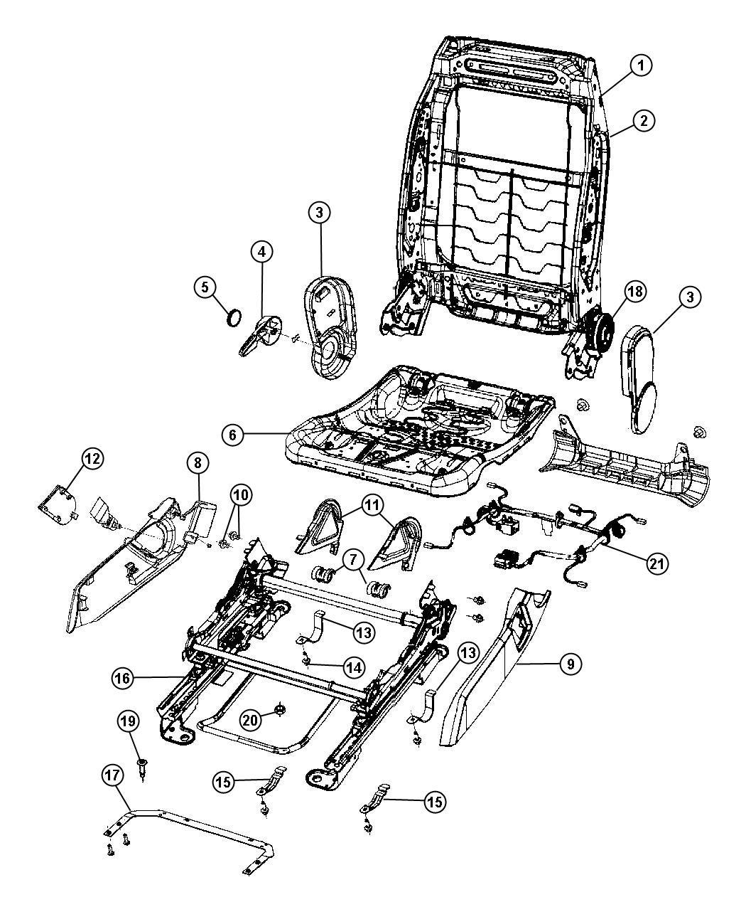 2007 jeep patriot Motordiagramm