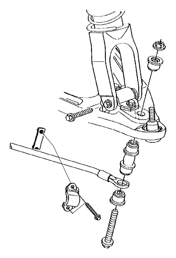 2005 dodge stratus rear suspension parts diagram