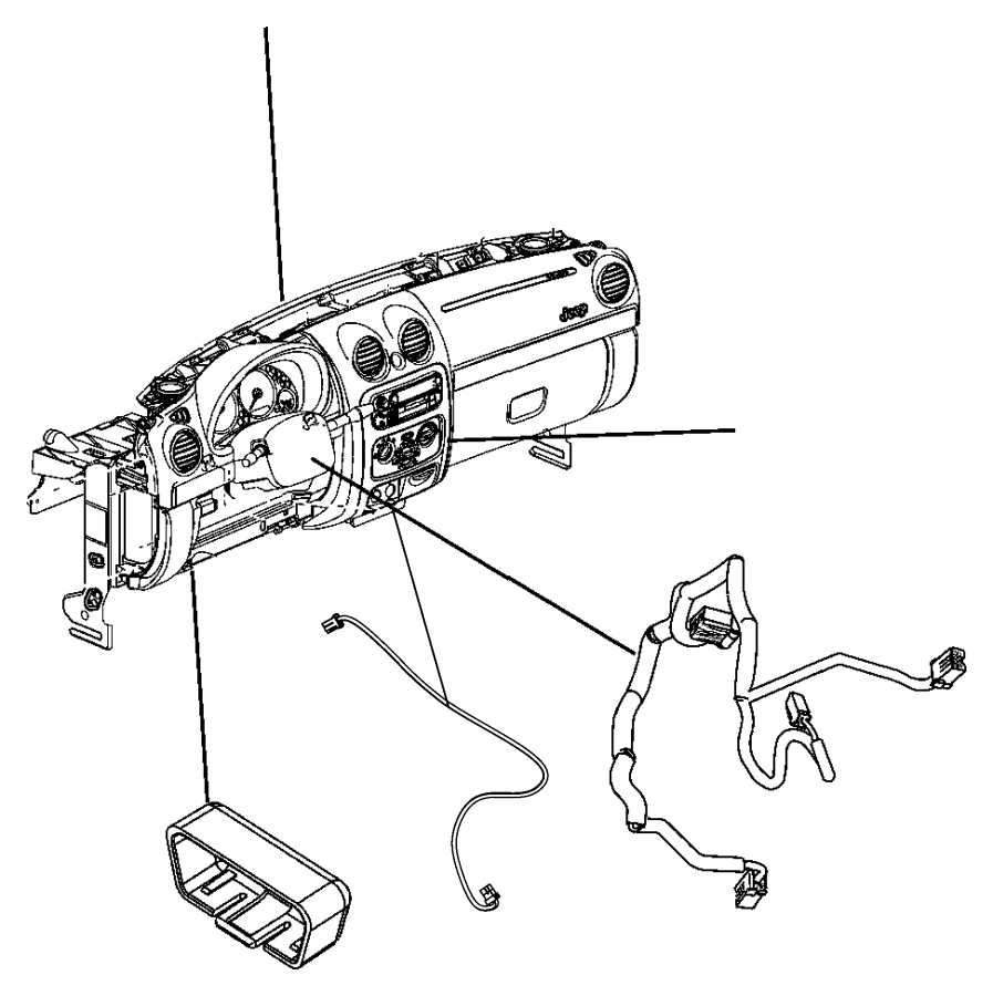 uconnect wiring diagram radio adapter