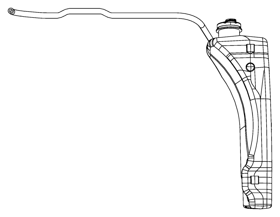 jeep wrangler coolant reservoir