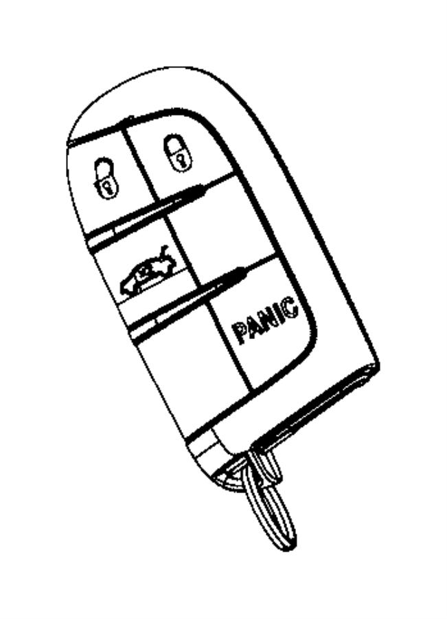 2012 dodge ram remote key fob