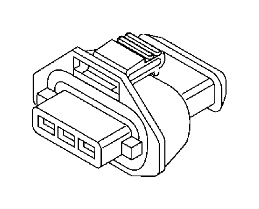 jeep oem electrical connectors