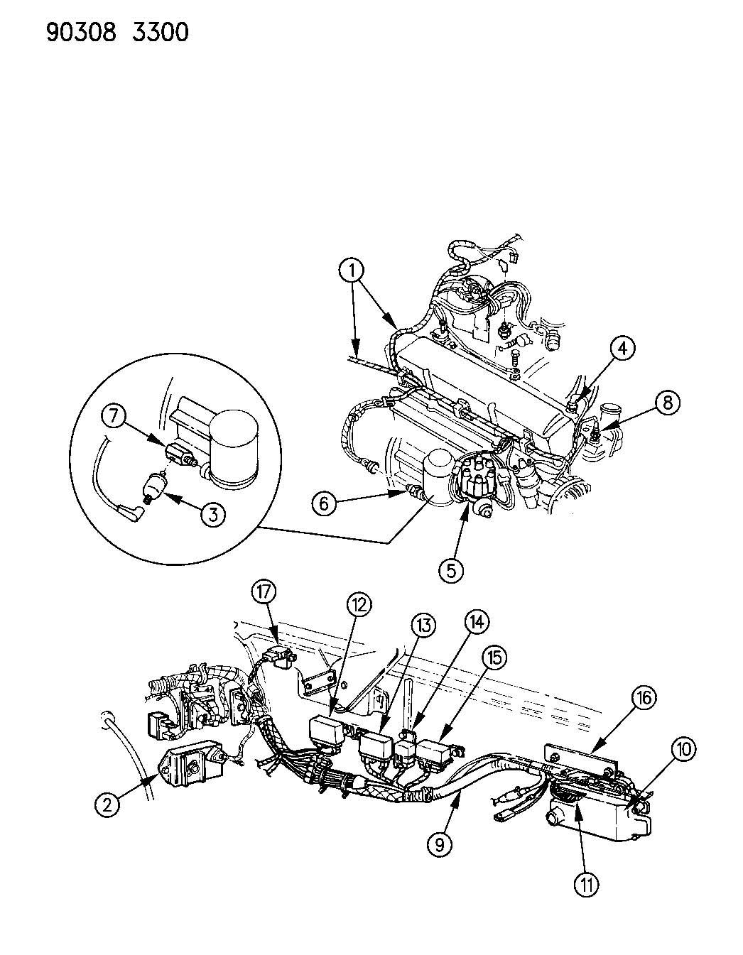 92 chrysler lebaron engine diagram 92 free engine image