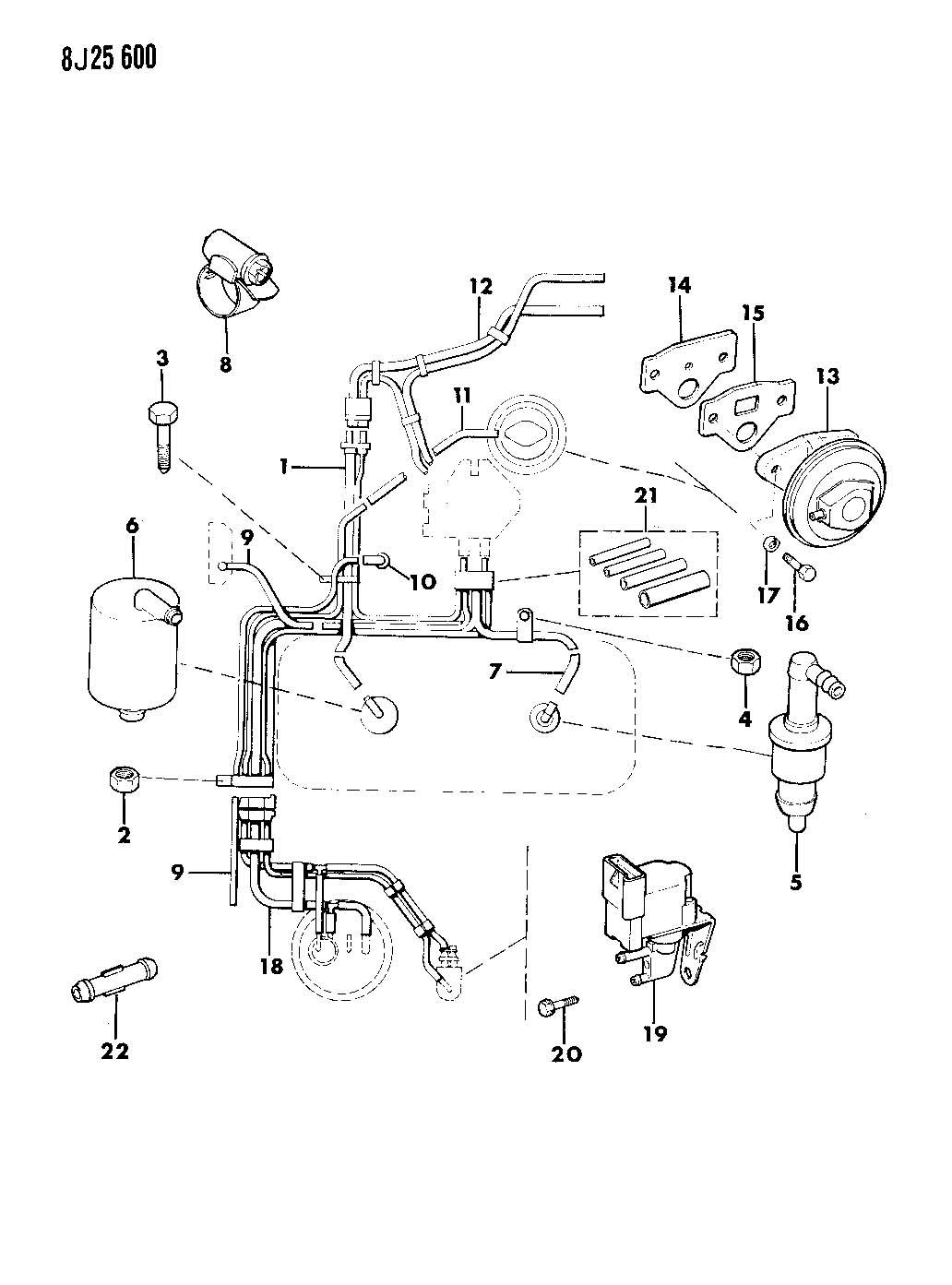 diagram besides 1987 jeep cherokee vacuum diagram on jeep 1987 yj