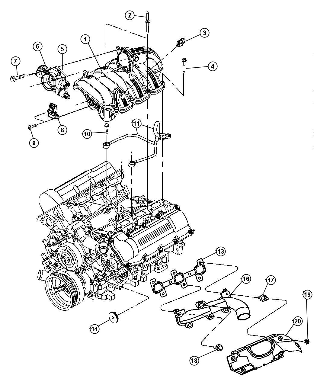 jeep liberty spark plug diagram