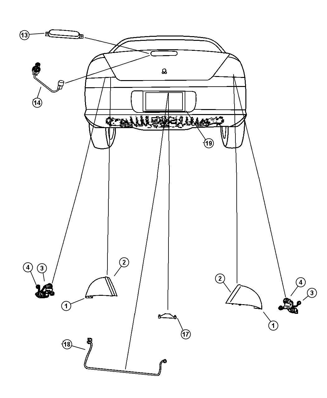 2005 dodge stratus radio wiring