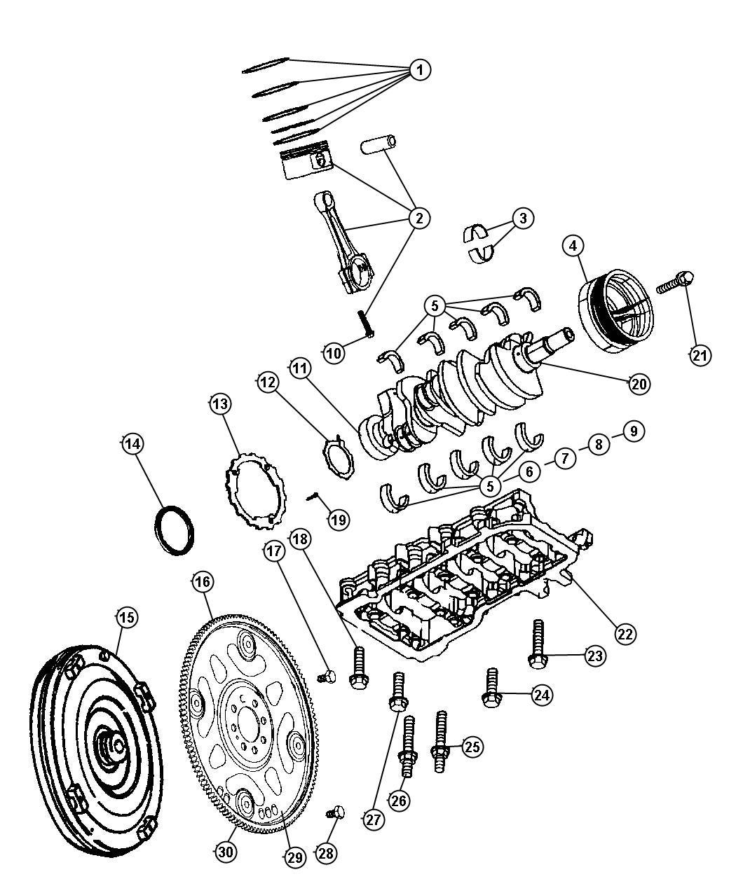 4.7 magnum engine diagram