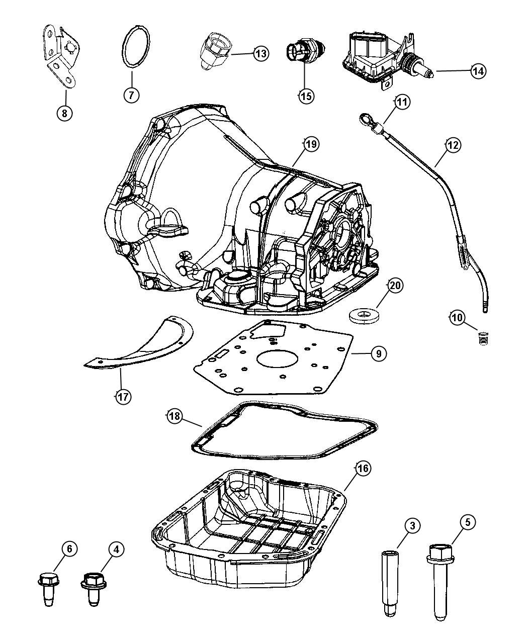 36rh transmission diagram