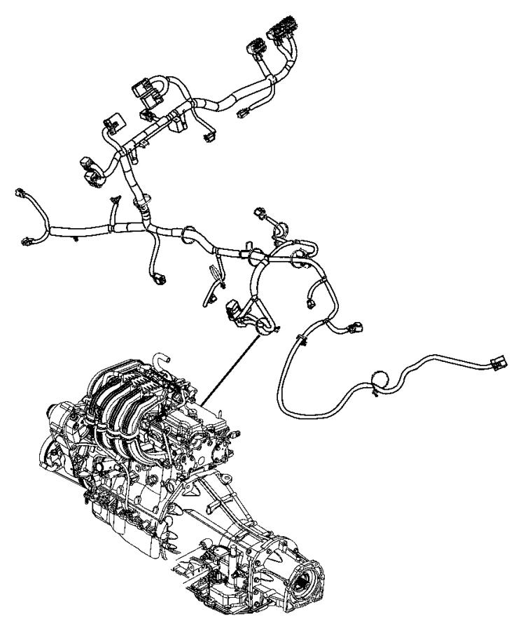 mopar wiring harness straps