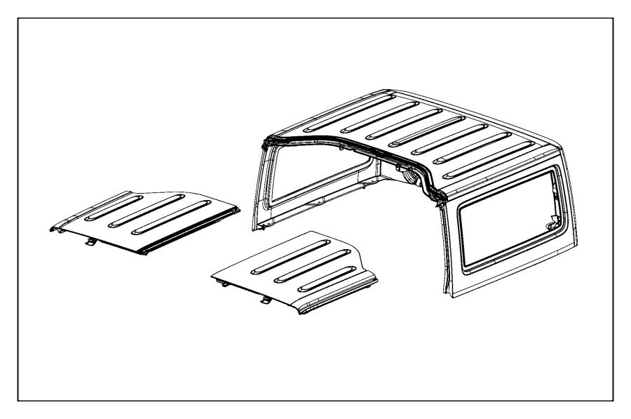 install jeep wrangler hard top