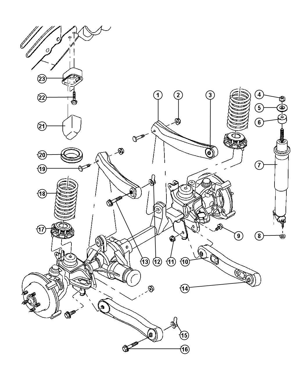 1999 dodge durango suspension