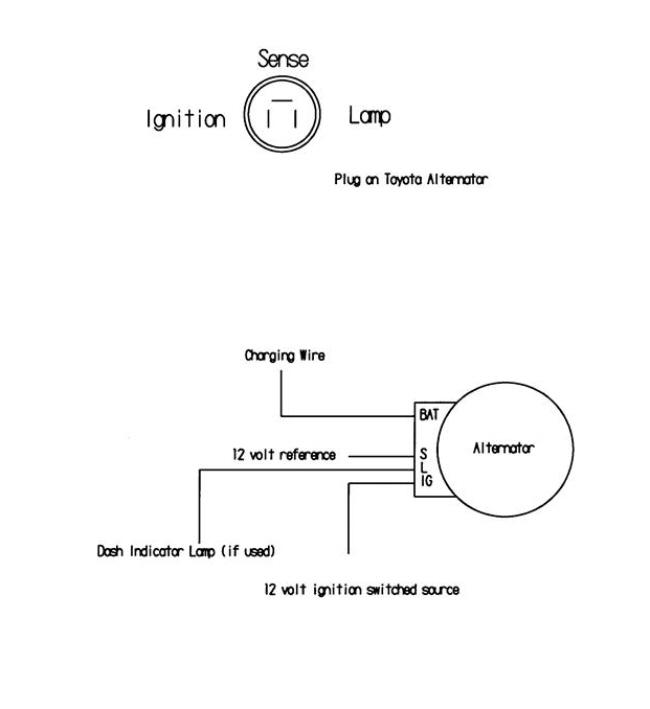 Toyota Denso Alternator Wiring Wiring Diagram