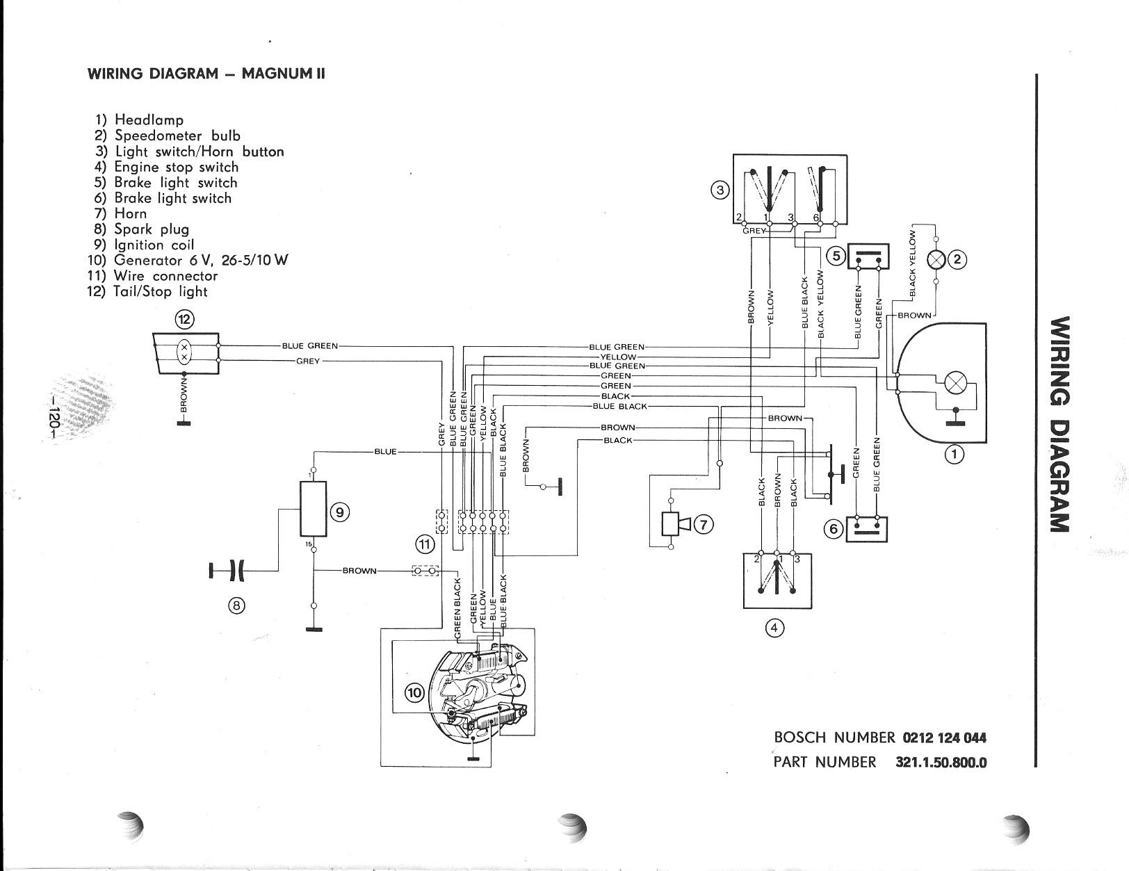 wiring diagram puch magnum