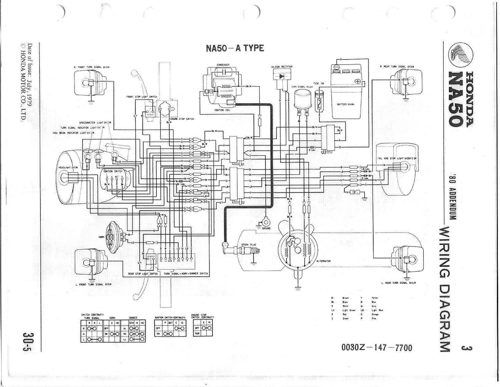 1980 honda express wiring diagram
