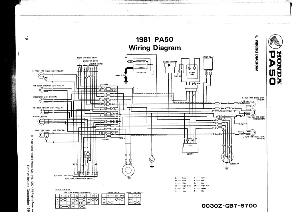 moped cdi box wire diagram