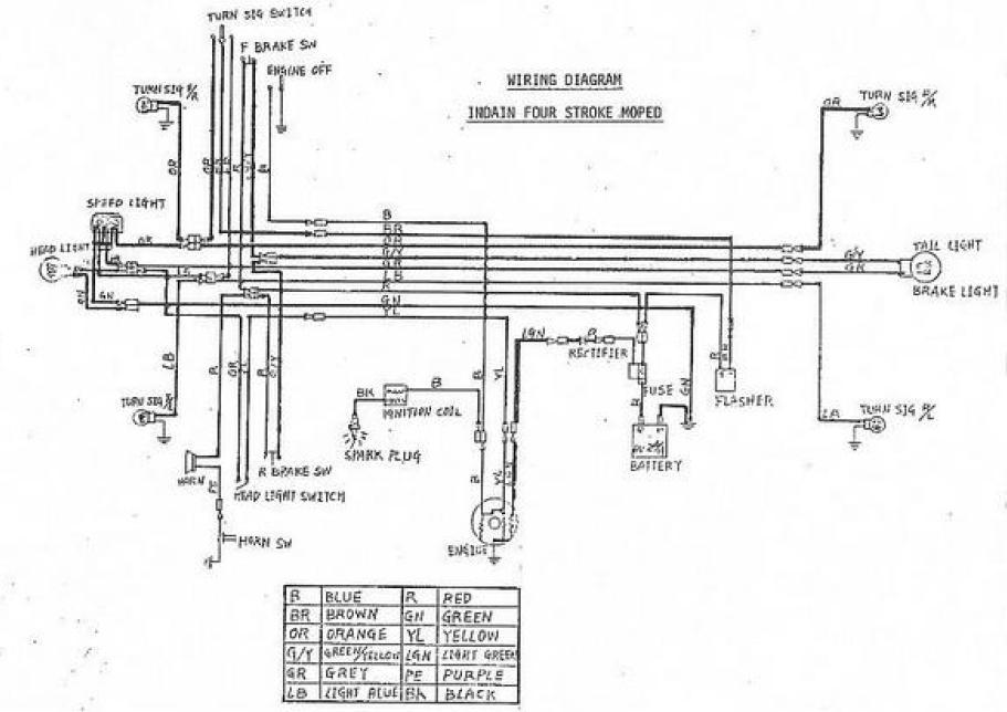 tomos a5 wiring diagram