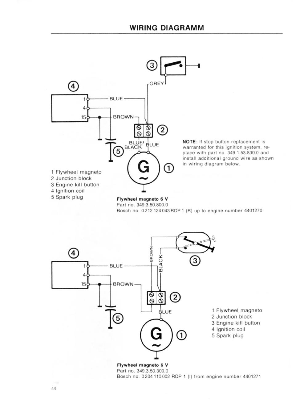 puch magnum wiring diagram