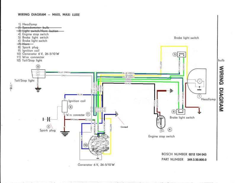 Puch wiring - Moped Wiki