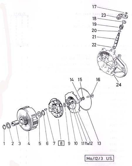 Puch Engine Diagram Control Cables  Wiring Diagram