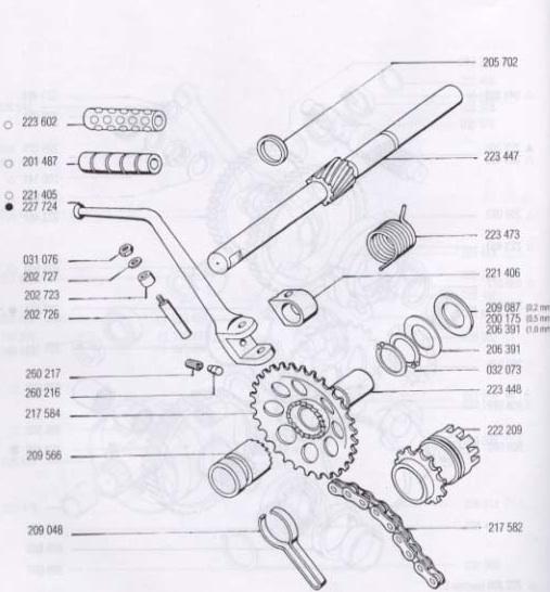 shovelhead kick start wiring diagram