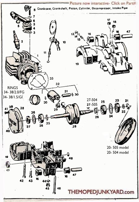 sachs engine wiring