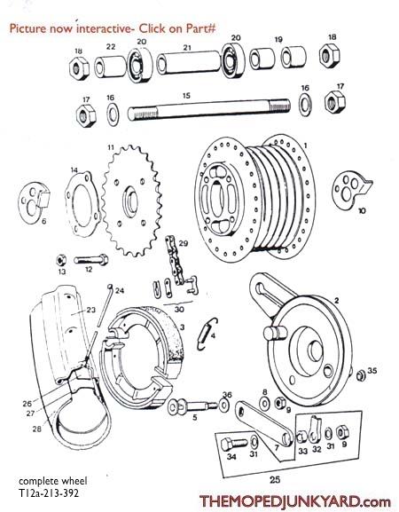 tomos parts diagram