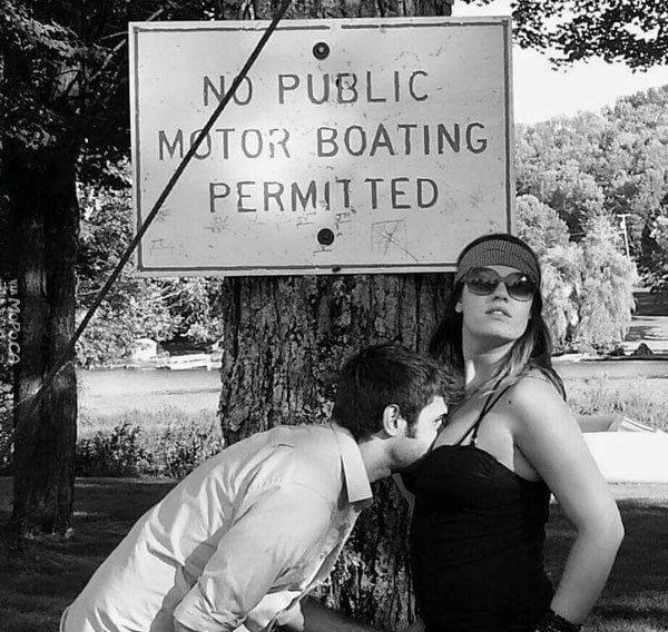 No Public Motor Boating