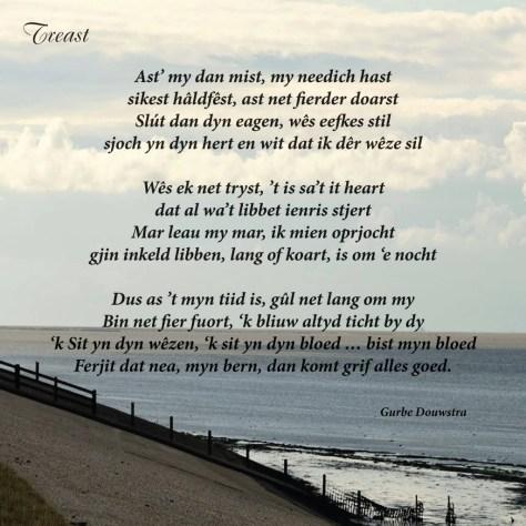 Gurbe Douwstra's song in Frisian