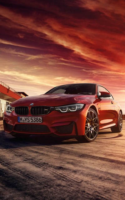 Red BMW M4 Coupe - Download Free Pure 4K Ultra HD Mobile Wallpaper