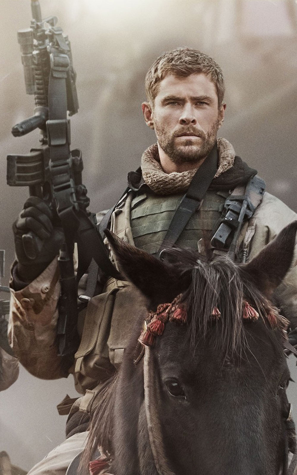 4k Anime Girl Wallpaper For Phones Download Chris Hemsworth In 12 Strong Free Pure 4k Ultra