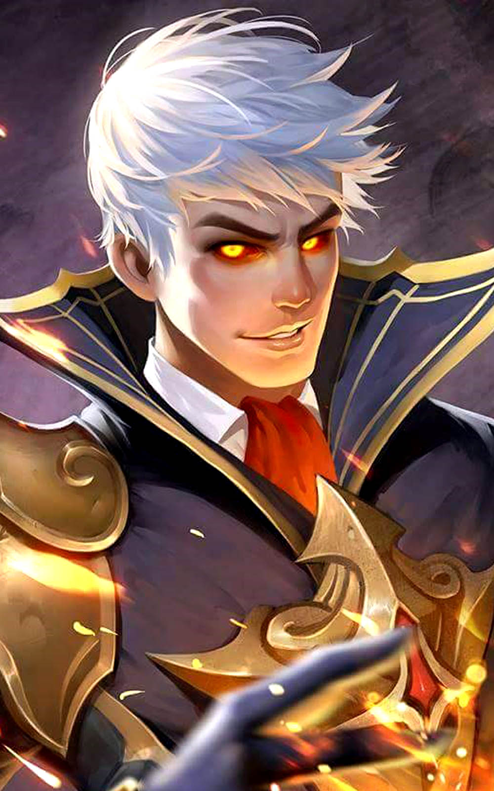 Alucard Child Of The Fall Wallpaper Download The Fiery Inferno Alucard Mobile Legends Free