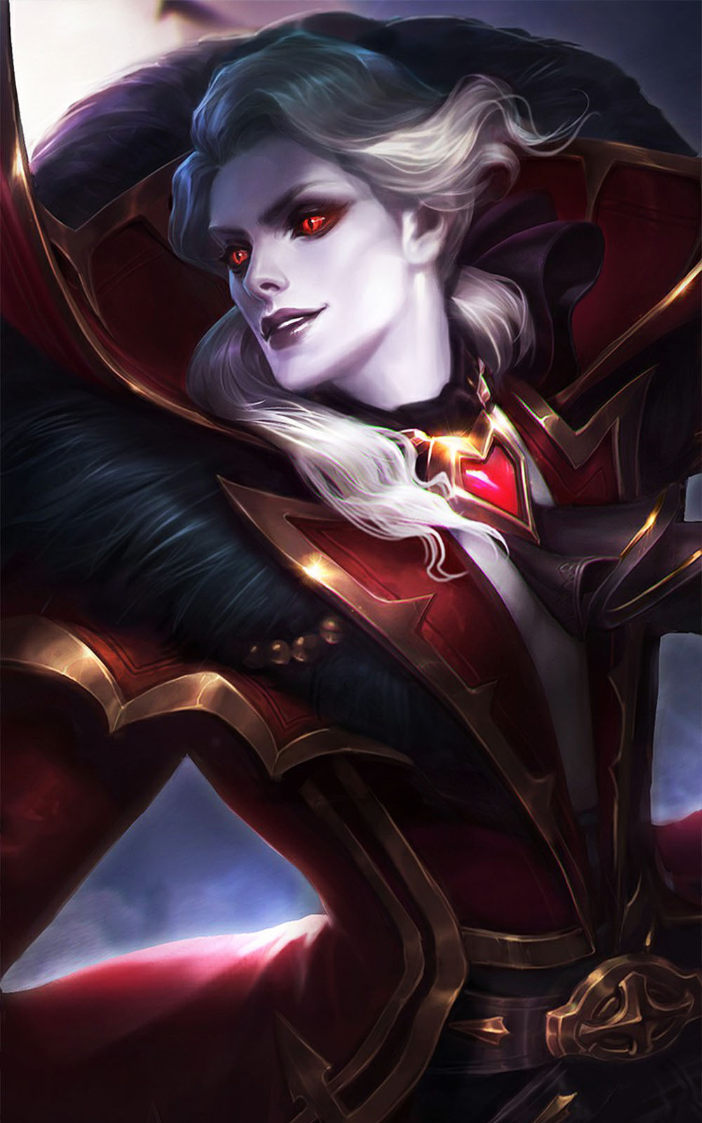 Summer Android Wallpaper Quotes Viscount Alucard Mobile Legends Download Free Pure 4k