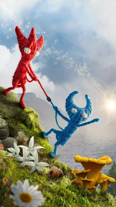 Download Unravel 2 Video Game Free Pure 4K Ultra HD Mobile Wallpaper