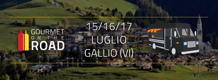 GOURMET ON THE ROAD GALLIO2016