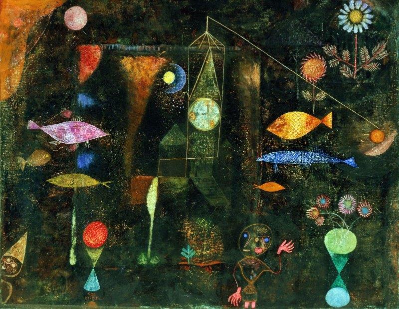 Tableaux Paul Klee  oeuvres et peintures de Klee