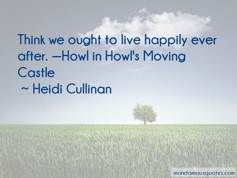 Howl\u0027s Moving Castle Quotes top 5 quotes about Howl\u0027s Moving Castle