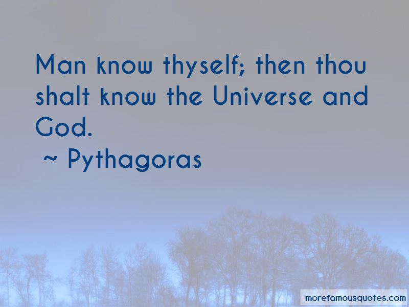 Man Know Thyself Quotes top 16 quotes about Man Know Thyself from