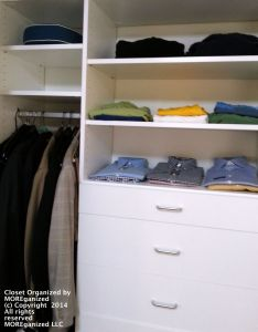 Closet Organized by MOREganized