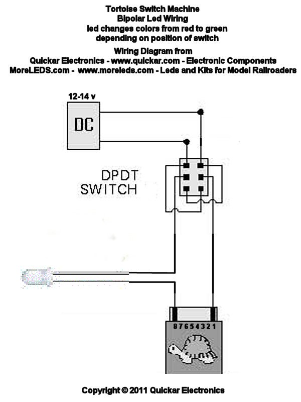 WIRING DIAGRAMS FOR MODEL RAILROADS - HOW TO HOOK UP LEDS - choosing