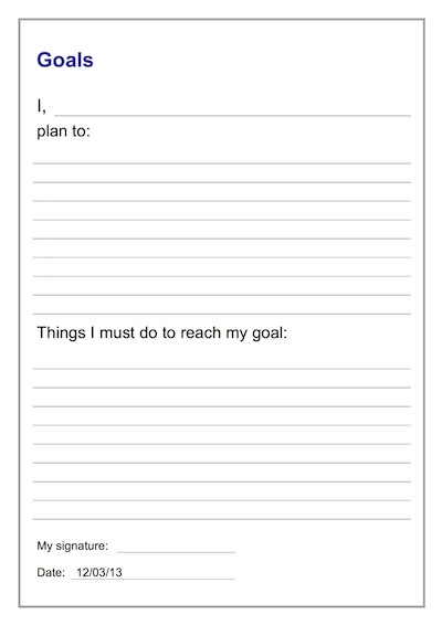 Student Contract Template \u2013 Goal Setting Teacher Timesavers - Student Contract Templates
