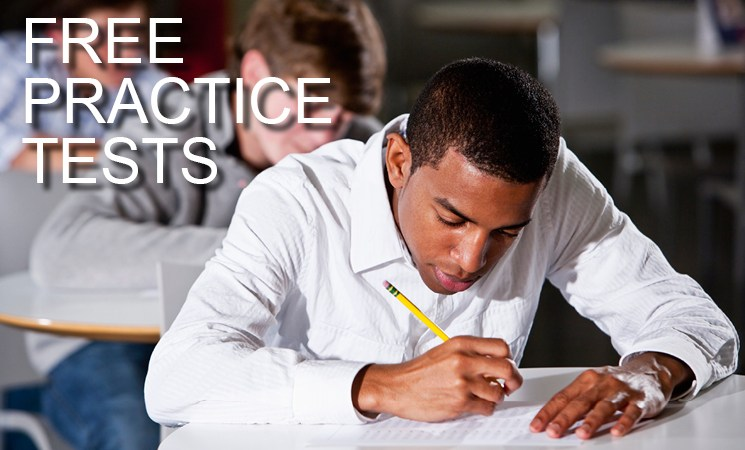 free practice tests slide