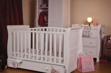 Esme white cot - More Than Beds, Bangor